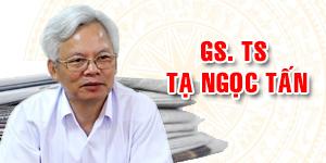 GS.TS TẠ NGỌC TẤN