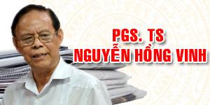 PGS.TS NGUYỄN HỒNG VINH