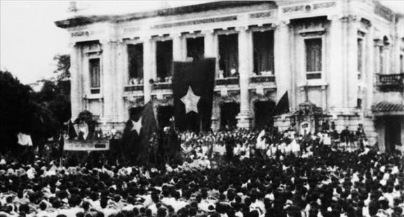 Mốc son cuộc cách mạng tháng Tám năm 1945